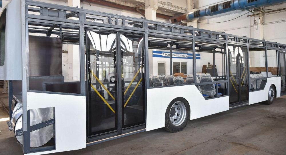 Чүй облусунда электрдик жана электрдик-гибриддик жапыз автобустарды куроо өндүрүшү