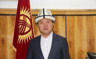 Новоизбранный мэр города Нарын Самарбек Болотбеков