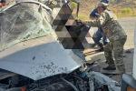 Столкновение автомашин в Джалал-Абадской области