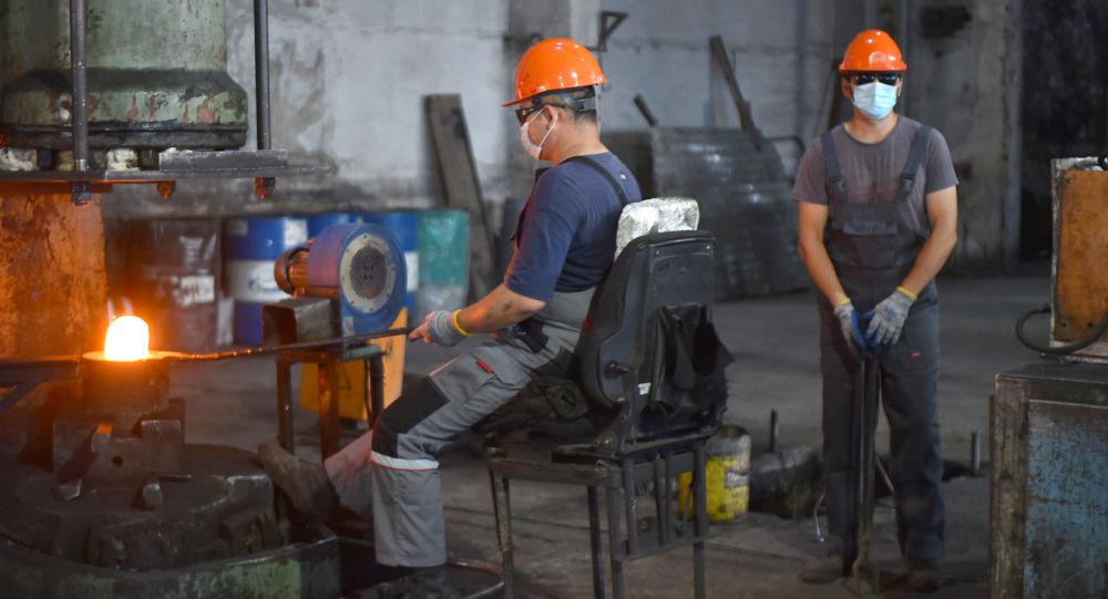 Деятельность завода по производству изделий из черных металлов. Архивное фото
