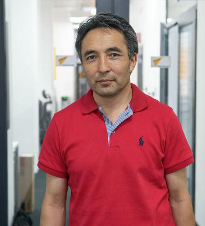 Кыргыз дыйканчылык илим-изилдөө институтунун өсүмдүктөрдүн генетикалык ресурстары бөлүмүнүн башчысы Биржан Усубалиев