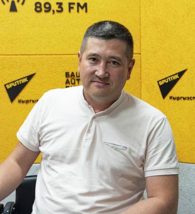 Бишкек санитардык полигону муниципалдык ишканасынын директору Адил Назаров
