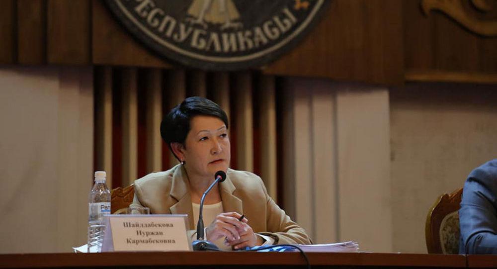 БШКнын төрайымы Нуржан Шайлдабекова Ошко барып, шаардык кеңешке депутаттарды шайлоого даярдык көрүү жана өткөрүү боюнча штабдын жыйынына катышты