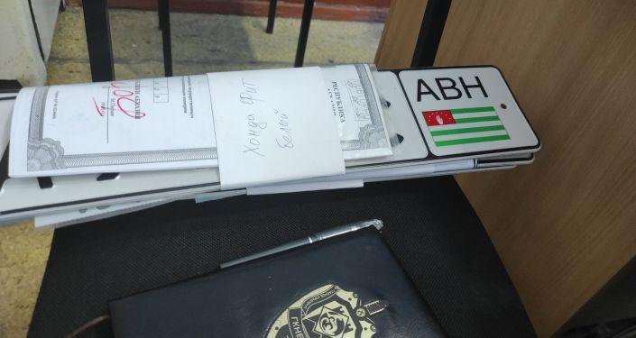 ГКНБ выявил налаженную схему ввоза контрабандных автомашин из Абхазии