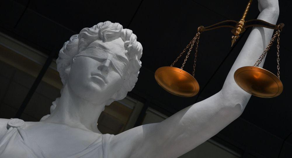 Статуя богини правосудия (Фемиды). Архивное фото