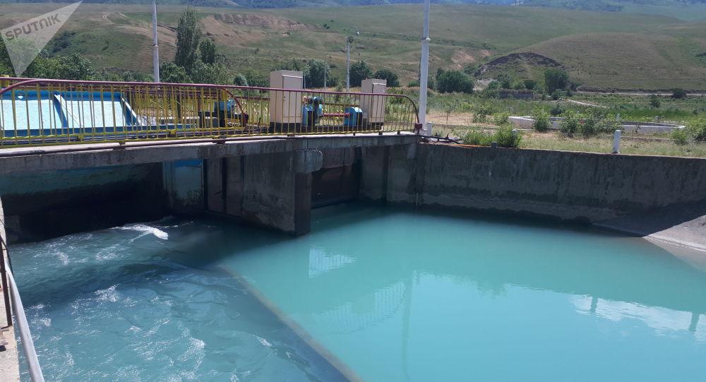 Головной водораздел реки Ала-Арча