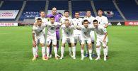 Футболисты сборной Кыргызстана перед матчем с Японией, в рамках отборочного тура к Чемпионату мира-2022 в Суйте (Япония)