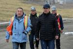 Президент Садыр Жапаров в ходе ознакомления с деятельностью рудника Кумтор в Иссык-Кульской области