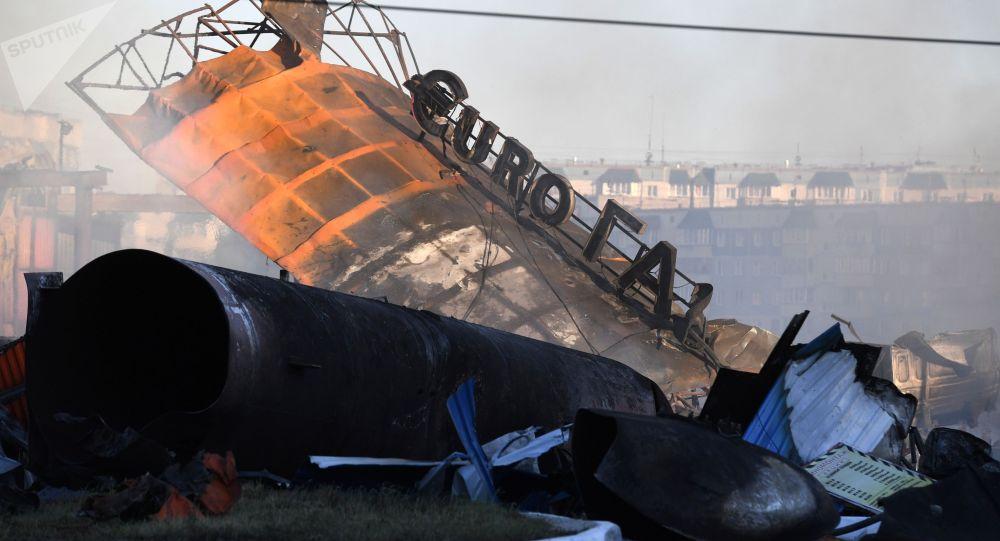 Новосибирск жарылуу болгон автогаз куюучу жайы