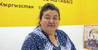 Кыргыз билим берүү академиясынын илим жана инновация бөлүмүнүн башчысы Дамира Жумабаева