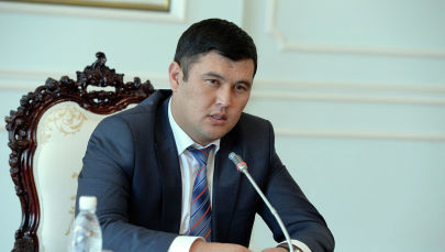 Экс-заместитель руководителя аппарата президента Кыргызстана Алмамбет Салиев. Архивное фото
