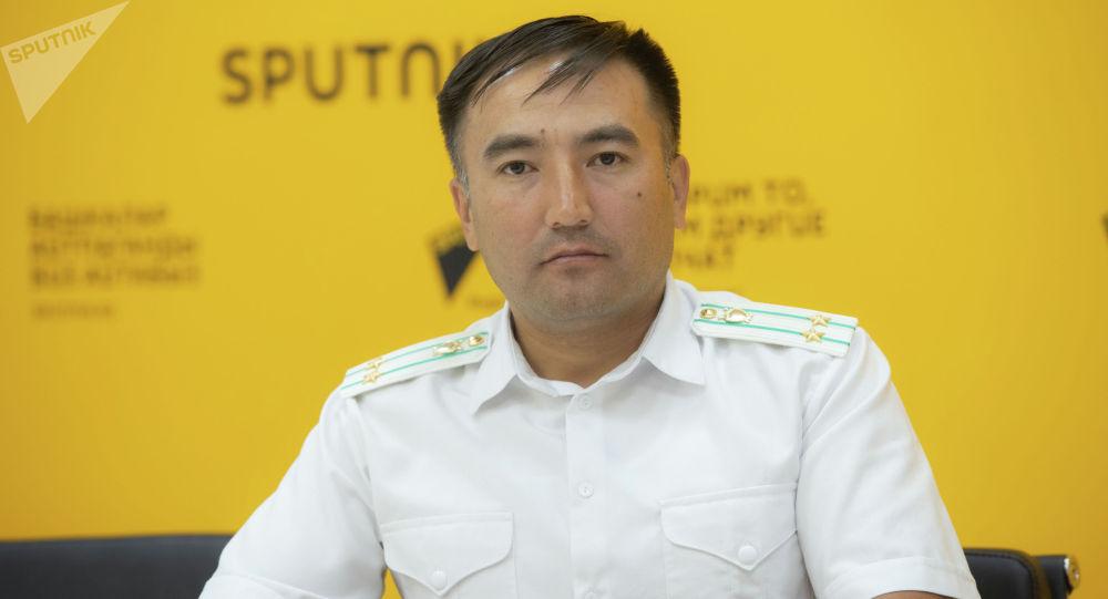 Башкы прокуратура башкармалыгынын ага прокурору Сирожиддин Камолидинов