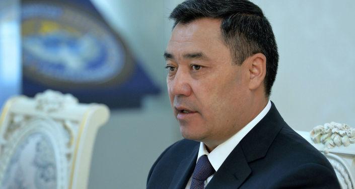 Президент Садыр Жапаров принял помощника Генерального секретаря ООН. 17 июня 2021 года