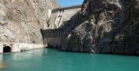 Токтогульское водохранилище в Джалал-Абадской области. Архивное фото