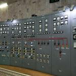 Комната управления Токтогульского ГЭС в Джалал-Абадской области