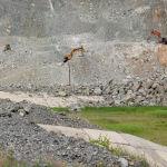 Строительные работы на территории Камбаратинской ГЭС-2 в Джалал-Абадской области