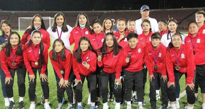 Женская сборная Кыргызстана по футболу на турнире Центральноазиатской футбольной ассоциации среди женских молодежных сборных (CAFA Women's Championship)
