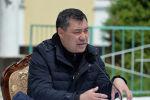 Мамлекет башчы Садыр Жапаров Ат-Башы районунун эли менен жолугушуу учурунда