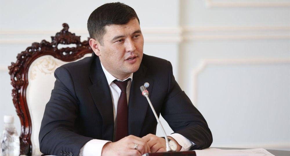 Президенттин аппарат жетекчисинин мурдагы орун басары Алмамбет Салиев. Архив