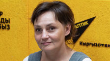 Искусствовед Елена Махотина на радио Sputnik Кыргызстан