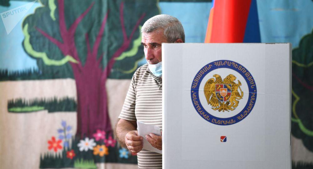 Арменияда өтүп жаткан парламенттик шайлоо