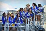 Девушки из группы поддержки американского спортивного клуба Даллас Ковбойс. 13 июня 2021 года