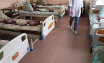 Палата для больных коронавирусом. Архивное фото