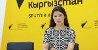 DzenSoulLook коомдук фондунун эксперти, дарыгер Жаңылмырза Бакиридин кызы