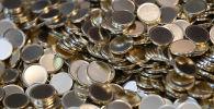Заготовки для чеканки монет. Архивное фото