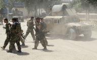 Афган күчтөрү Кундуз провинциясындагы согуш талаасында