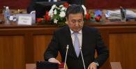 Депутат ЖК Асылбек Жээнбеков. Архивное фото