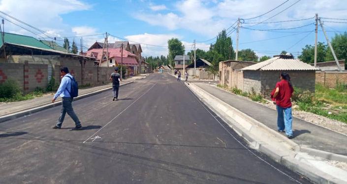 Четыре улицы после ремонта, планируемые открыть для проезда автомашин в Бишкеке. 24 июня 2021 года