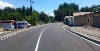 Четыре улицы после ремонта, планируемые открыть для проезда автомашин в Бишкеке