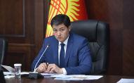 Председатель Кабинета Министров Кыргызстана Улукбек Марипов