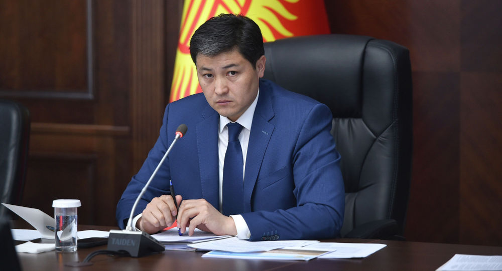 Председатель Кабинета Министров Кыргызстана Улукбек Марипов. 24 июня 2021 года