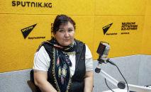 Акын Турар Кожомбердиевдин кызы Нургүл Кожомбердиева