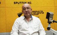 Вице-мэр Бишкека по транспорту Русланбек Акылбеков