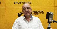 Бишкек шаарынын транспорт маселелери боюнча вице-мэри Русланбек Акылбеков
