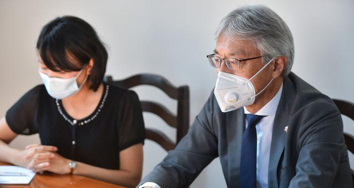 Заместитель председателя кабинета министров и Посол Японии в КР Сигэки Маэда обсудили вопросы развития двустороннего сотрудничества. 25 июня 2021 года