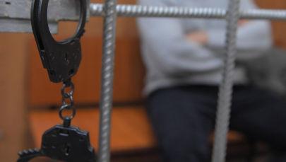 Обвиняемый в камере. Архивное фото