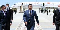 Кыргызстандын президенти Садыр Жапаров Ашхабад шаарында