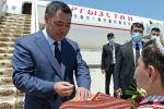 В рамках официального визита пройдут переговоры президентов Кыргызстана и Туркменистана. Ожидаются и другие мероприятия.