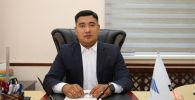 Кыргыз темир жолу мамлекеттик ишканасынын башкы директору Азамат Сакиев