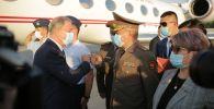 В Кыргызстан прибыла военная делегация Турции во главе с министром национальной обороны Хулуси Акаром
