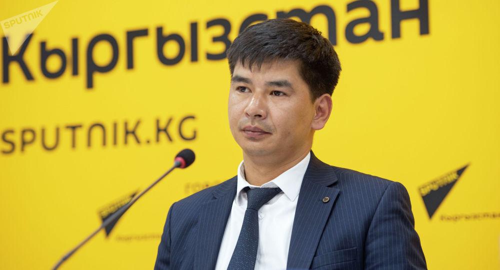 Заместитель директора ГУ Унаа при Министерстве цифрового развития Бакытбек Шералиев. Архивное фото