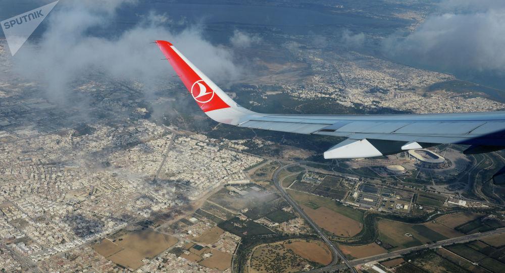 Самолет авиакомпании Turkish Airlines. Архивное фото