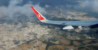 Turkish Airlines авиакомпаниясынын учагы. Архив