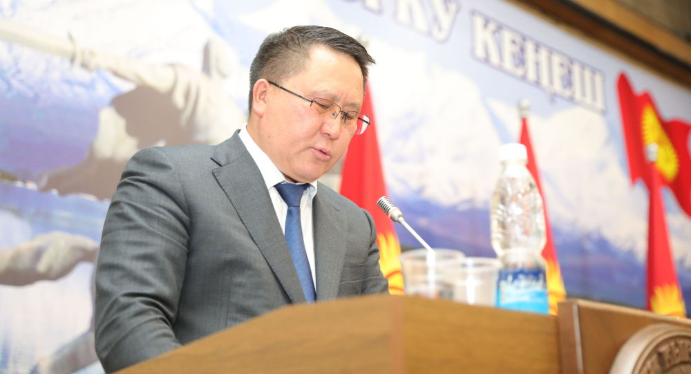 Генеральный прокурор Кыргызской Республики Курманкул Зулушев