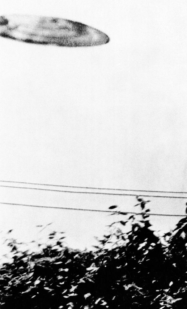 Кадр 1956-жылы 24-июлда Калифорниянын Сан-Бернардино шаарында 15 жаштагы Майкл Саваж тарабынан тартылган. Анын айтымында, объект 30 секунданын ичинде эле көздөн кайым болгон