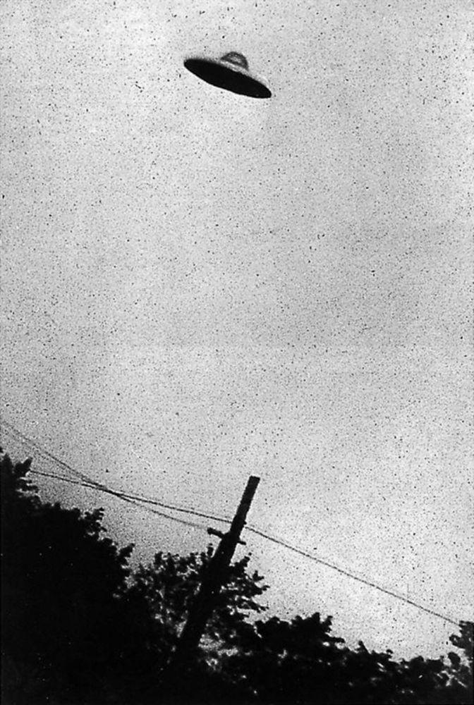 Нью-Жерсиде жүргөн НЛО (жасалма далилденген). 1952-жыл, ЦРУнун архиви